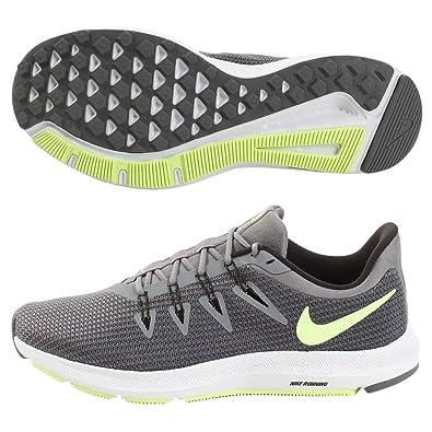 san francisco e7d81 035d3 Nike Herren Quest Laufschuhe, Grau (Cool GreyLime BlastBlackWhite