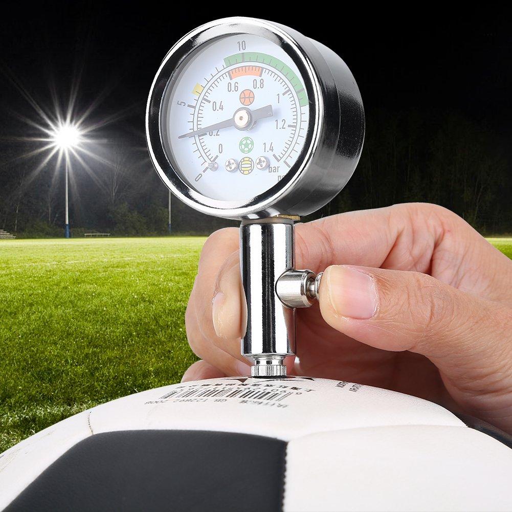 Air Pressure Gauge Barometer, Mini Ulitity Pressure Measure Tool for Basketball Football Volleyball by Alomejor (Image #8)