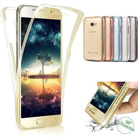 Carcasa Samsung Galaxy J7 2017, Caso Funda Samsung Galaxy J730F 2017, JAWSEU Samsung Galaxy J7(2017) J730F [EU-Model] Carcasa Caso Cover 360 Grados ...