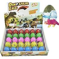Yeelan Huevos de Dinosaurio Huevo de Juguete Crecimiento Dino Dragon para niños Paquete de Gran tamaño de 30 Piezas…