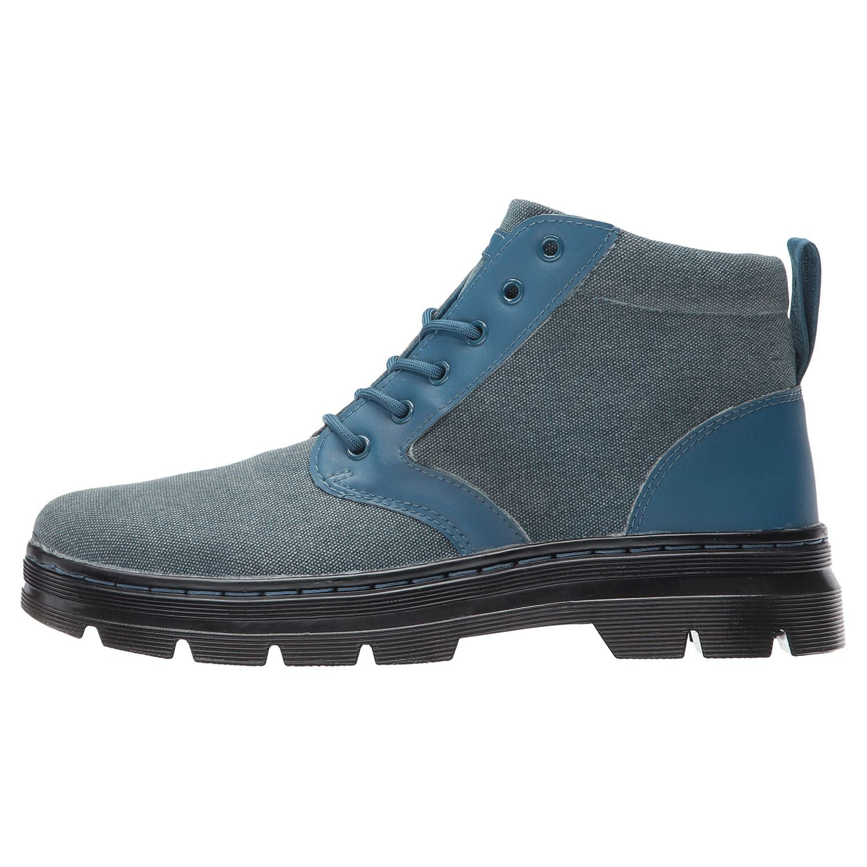 6ad848957d Dr.Martens Womens Bonny 6-Eyelet Blue Canvas Boots 4 UK: Amazon.co.uk:  Shoes & Bags