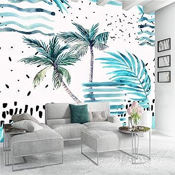 3D Green Coconut FJFL193 Removable Wallpaper Self Adhesive Wallpaper Extra Large Peel /& Stick Wallpaper Wallpaper Mural AJ WALLPAPERS