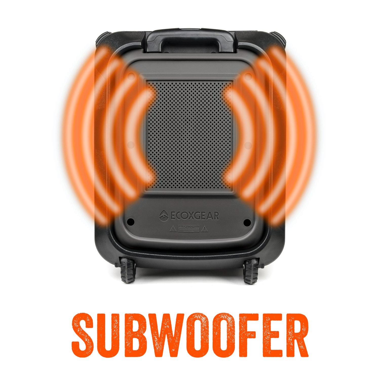 ECOXGEAR GDI-EXBLD810 Waterproof Portable Bluetooth/AM/FM Wireless 100W Speaker & PA system by ECOXGEAR (Image #2)
