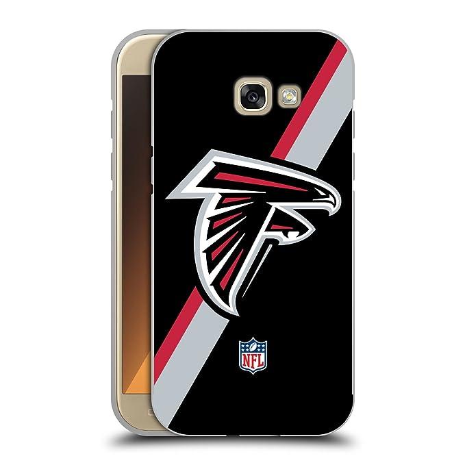 Amazon Official Nfl Stripes Atlanta Falcons Logo Black Metallic