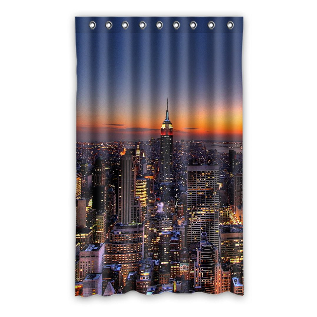 DongMen Highway Bridge Fenstervorhang Vorhang Window Curtain Polyester 132cm x 275cm(One piece)