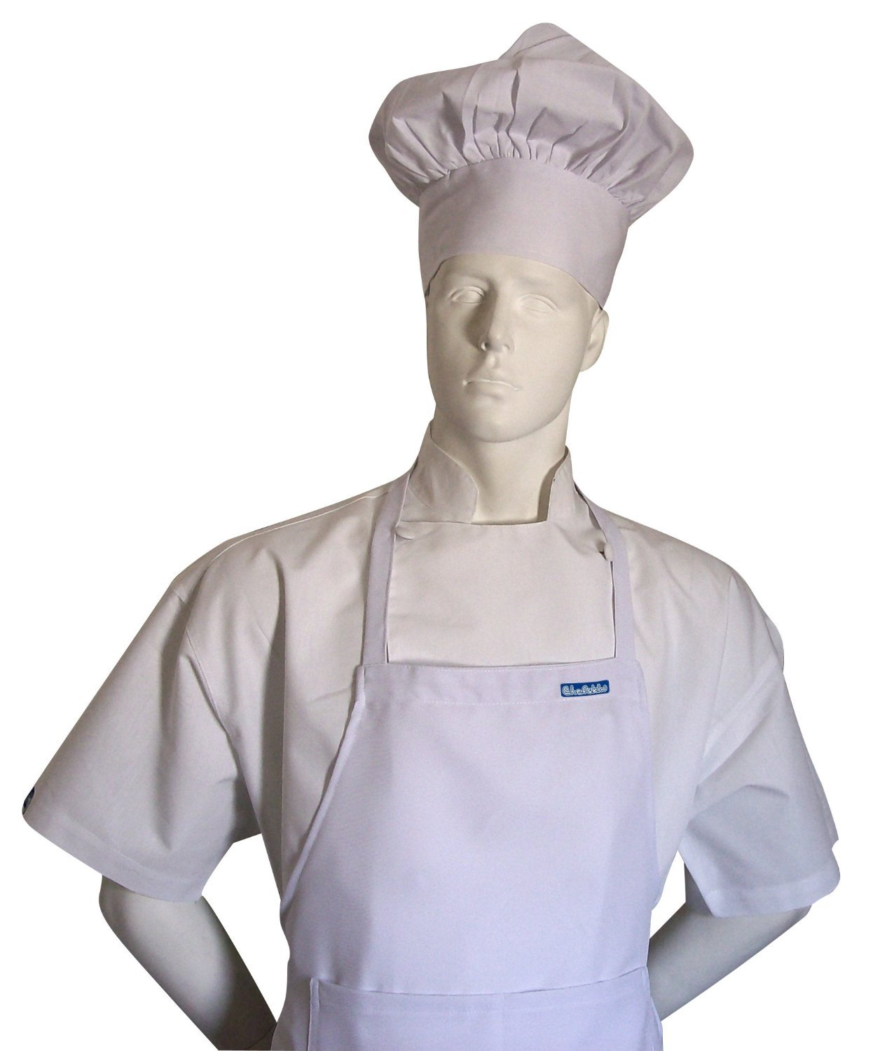 White apron and hat - Amazon Com Chefskin Chef White Adult Chef Set Apron Hat Adjustable Ultra Lite Fabric Kitchen Dining