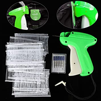 1500 Garment//Clothing//Clothe Label Tag Pins Tagging Gun Barbs Plastic FasteUULK