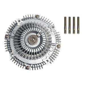 A-Premium Engine Cooling Fan Clutch for Toyota Land Cruiser 1975-1992 4Runner Pickup 1988-1995 T100 Isuzu Rodeo Trooper