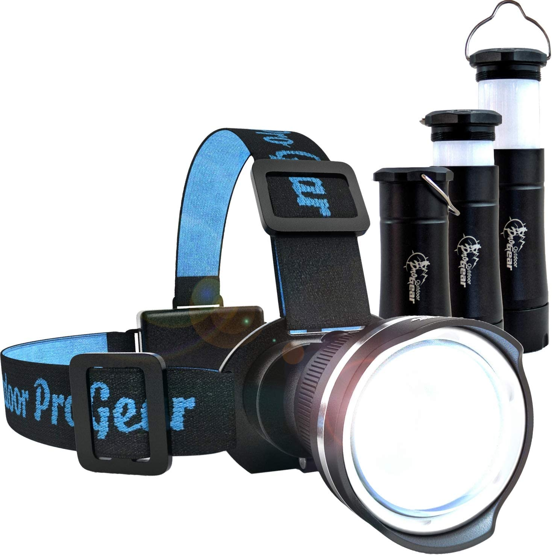 Lighting Night Fishing Lantern Head Lamp Front Headlight Outdoor Camping Light