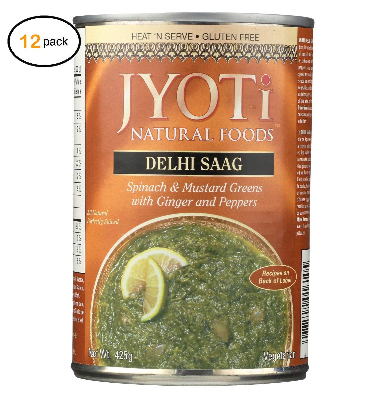 Jyоti Cuisinе India Dеlhi Saag - Casе оf 12-15 оz. - Bulk Buy