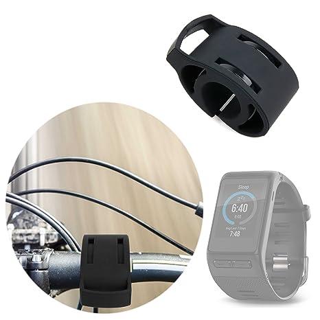 Support vélo/ kit de fixation noir pour bicyclette, compatible avec les montres connectées Garmin Vivoactive HR et Oukitel A28 SmartWatch: Amazon.fr: High- ...
