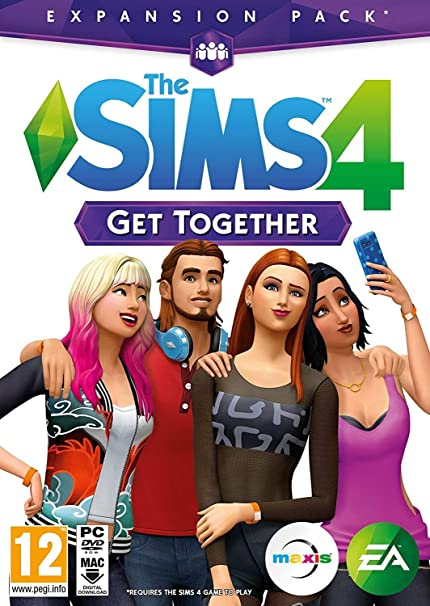 Amazon com: The Sims 4 Get Together (DOWNLOAD CODE IN A BOX) PC