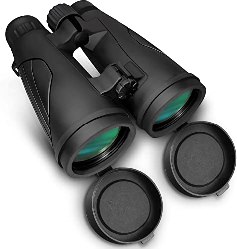 Erskin Roof Prism, Compact, HD Professional Optics with BAK7 Prism FMC Lens Diamondback Binoculars, for Hunting, Birding, Stargazing, Travel Concerts, Sports with Phone Mount Strap Carrying Bag, 10×42