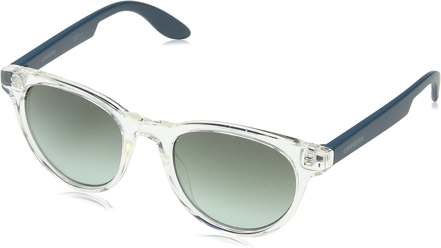 Carrera Junior CARRERINO 18 PL RHY Gafas de sol, Negro (Crystal Ptrl/Grey Green Ds), 46 Unisex-Niño