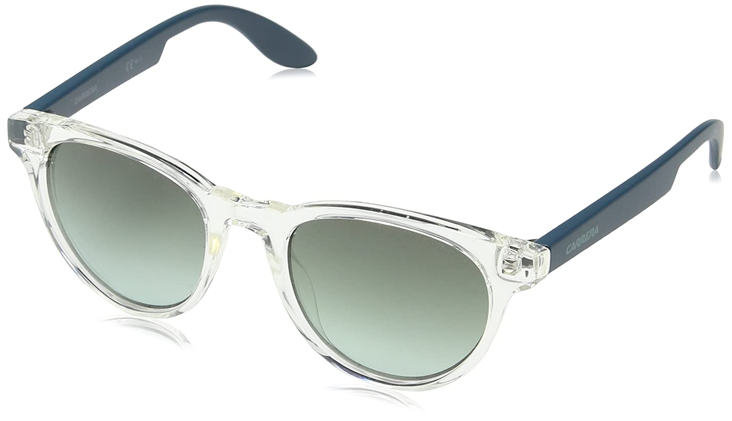 Carrera Junior Unisex Niños CARRERINO 18 PL RHY Gafas de sol, Negro (Crystal Ptrl/Grey Green Ds), 46