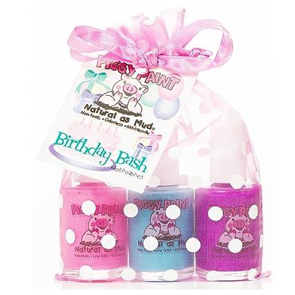 Amazon.com : Piggy Paint Gift Set, Birthday Bash : Nail Polish ...
