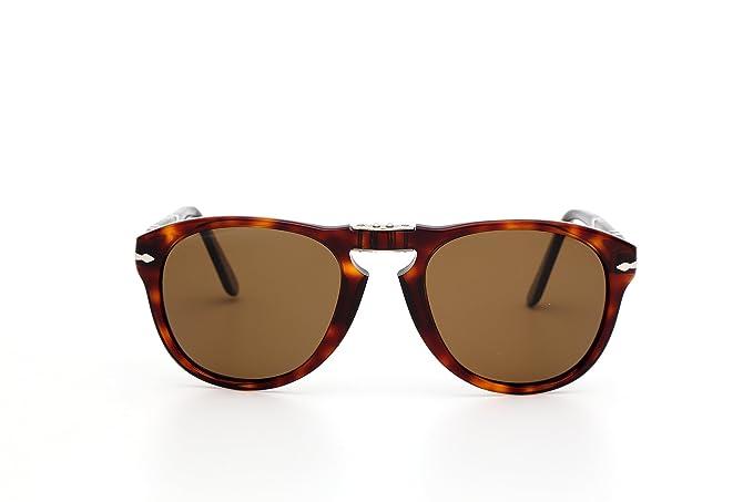 a83716277a Persol Gafas de Sol Mod. 0714-24/57: Amazon.es: Ropa y accesorios