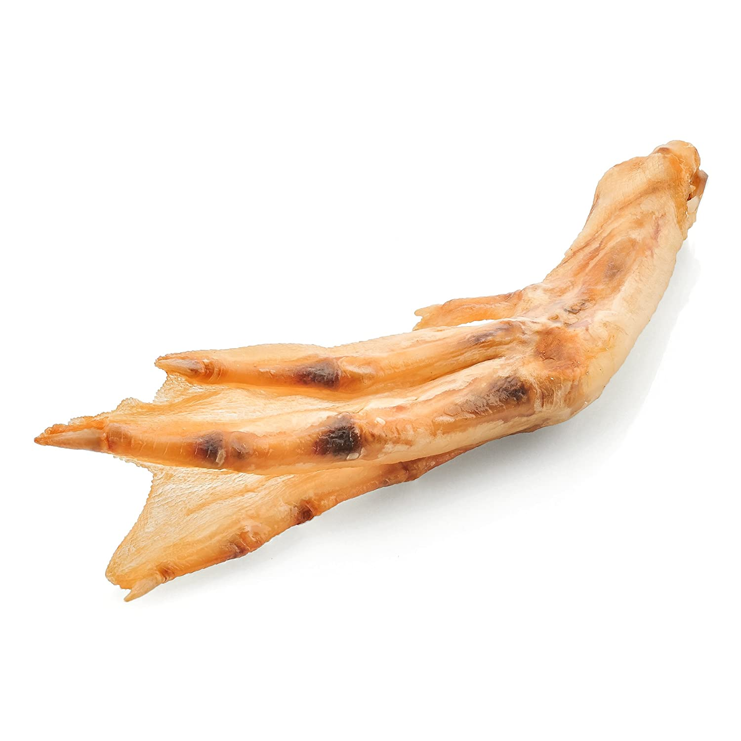 Best Bully Sticks All-Natural Duck Feet Dog Treats (30 Pack) - Single-Ingredient & Fully Digestible - Supports Healthy Hips and Joints