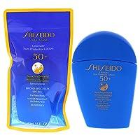 Shiseido Ultimate Sun Protector Lotion SPF 50+ Sunscreen SynchroShield WetForce X HeatForce, 50mL / 1.6 fl. oz