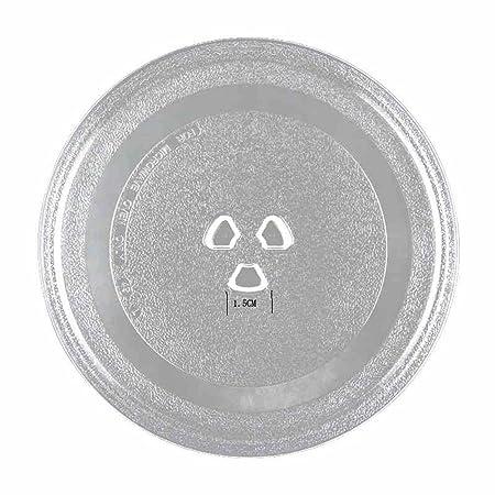 Plato giratorio de cristal esmerilado universal de 245 mm ...