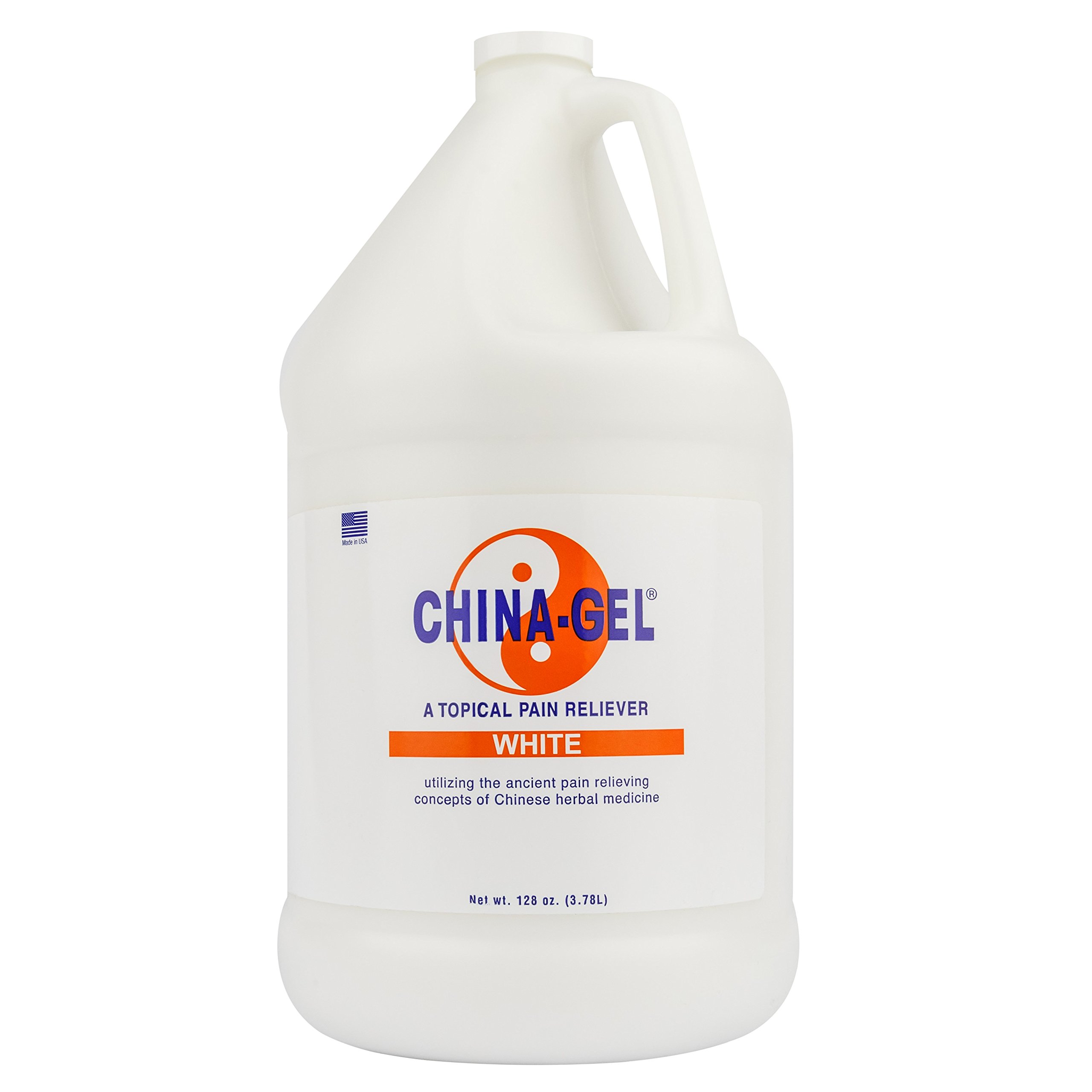 China-Gel 128 oz (Gallon) - White