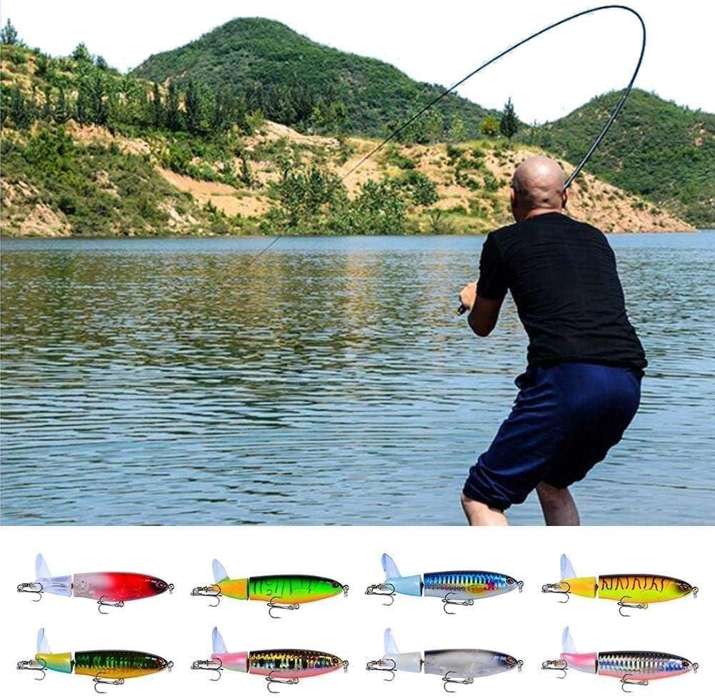 se/ñuelo de pesca cola giratoria para pesca cebo duro de 36 g//14,5 cm anzuelo de pesca de h/élice Se/ñuelos de pesca 1 unidad