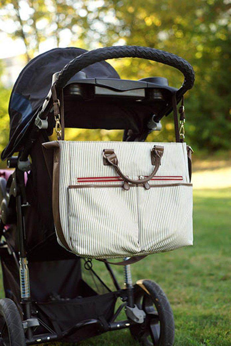 Amazon.com : Wallaroo Baby Diaper Bag - Designer Tote For Mom ...