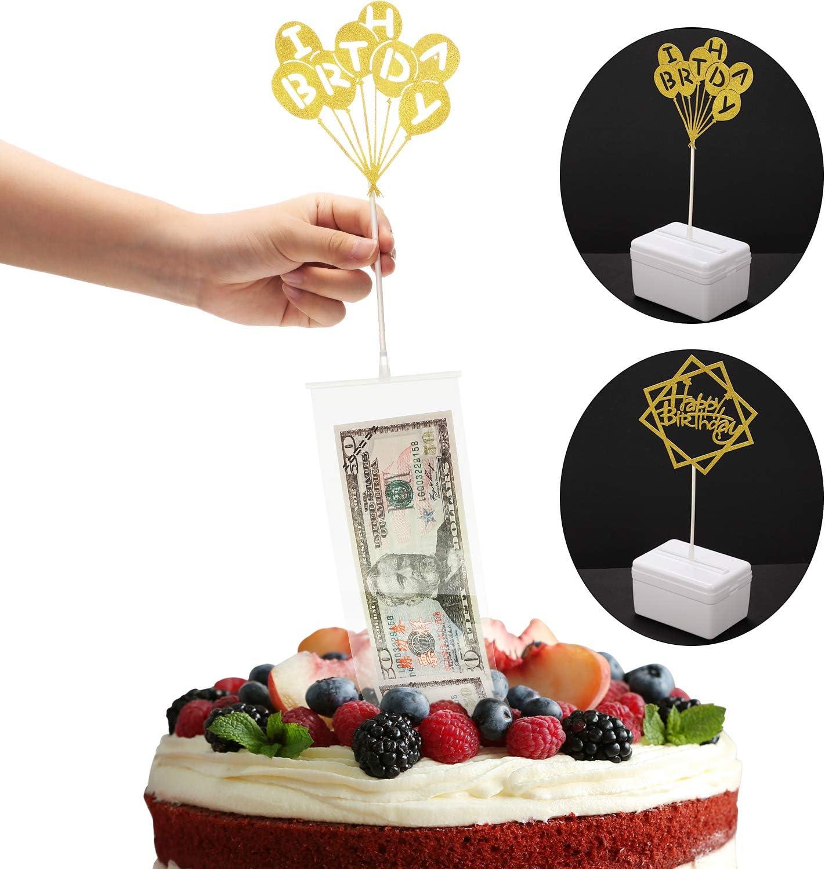 Outstanding Cake Birthday Money Box Set Birthday Cake Toppers And Transparent Funny Birthday Cards Online Kookostrdamsfinfo
