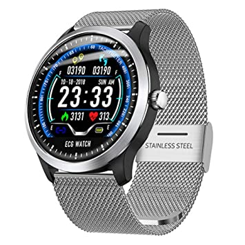 FJTYG ECG PPG Smart Watch Men 1.22
