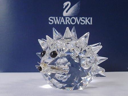 Cristal de Swarovski Argent ~ Petit Hérisson ~: Amazon.fr: Cuisine ...