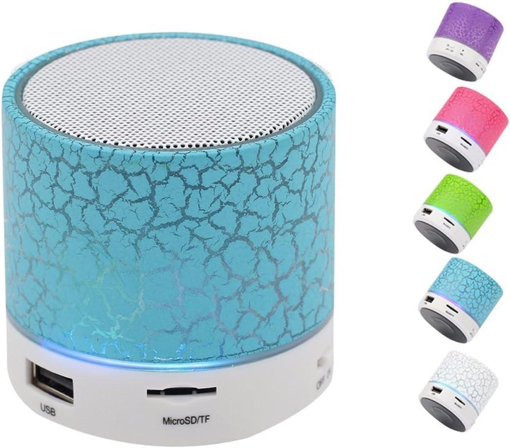 Mini Bluetooth Speaker W// Mic TF Card USB FM Wireless Subwoofer Portable Music