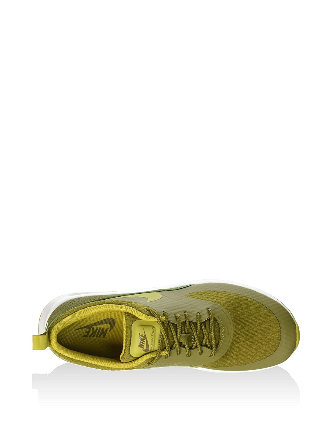 Nike Womens Air Max Thea TXT Olive Synthetic Trainers 6 US