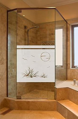 Sichtschutz Aufkleber Folie Glasdekorfolie Bad Dusche ...