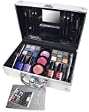 Markwins Professional Colours Train Case Silver Kit de Maquillaje - 1 unidad