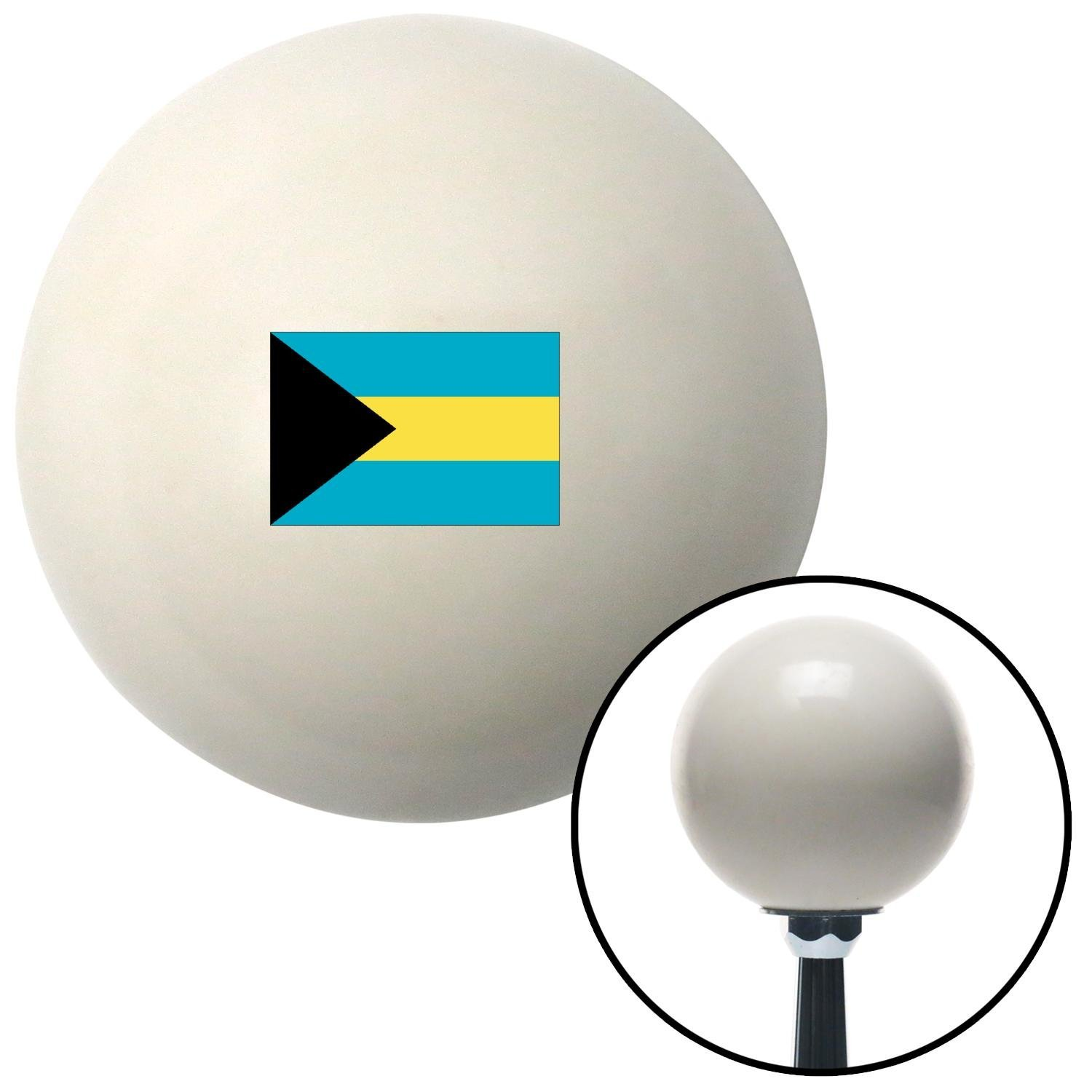 ASCSNX1624553 The Bahamas Ivory with M16 x 1.5 Insert American Shifter 303926 Shift Knob