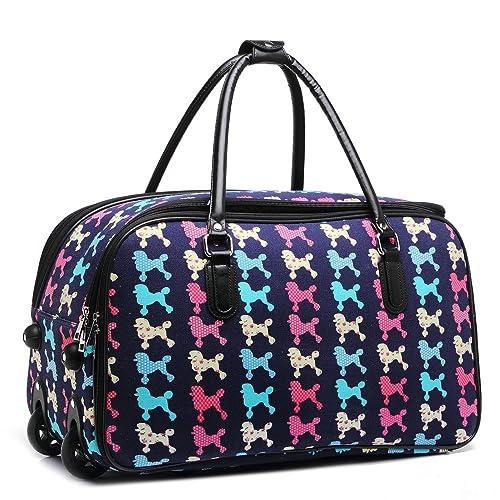 LeahWard Holdall mariposa equipaje bolsas de viaje bolso de las mujeres de equipaje Bolsa de fin