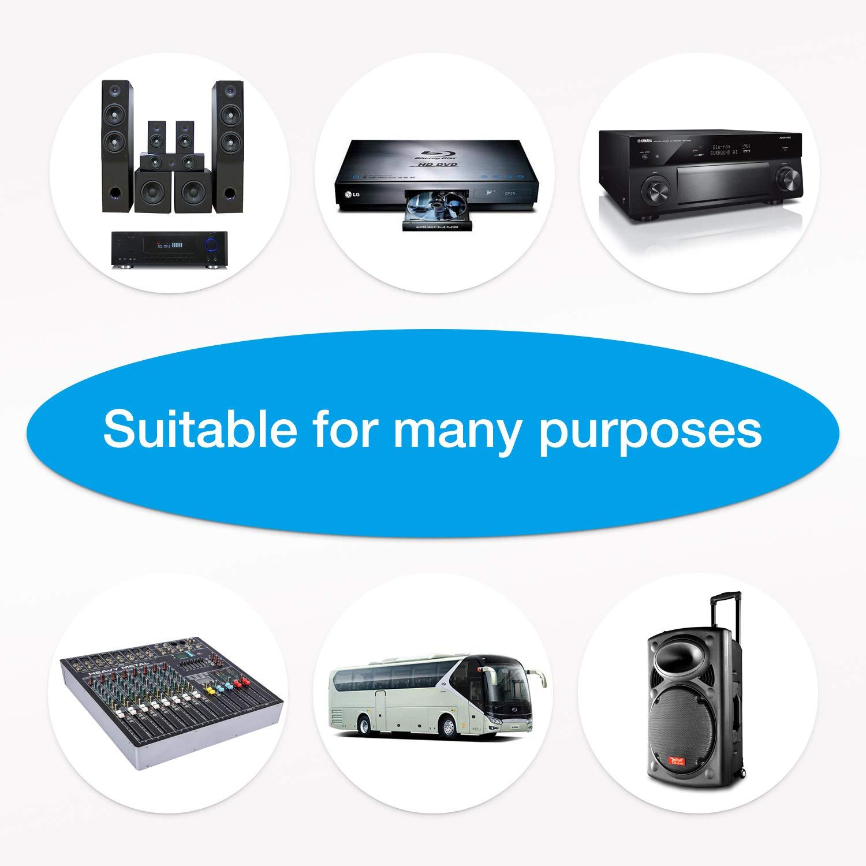 microfono portatile in metallo compatibile con macchina//altoparlante//amplificatore//mixer MouKey MWm-5 Microfono dinamico per karaoke per canto con cavo XLR da 13 ft