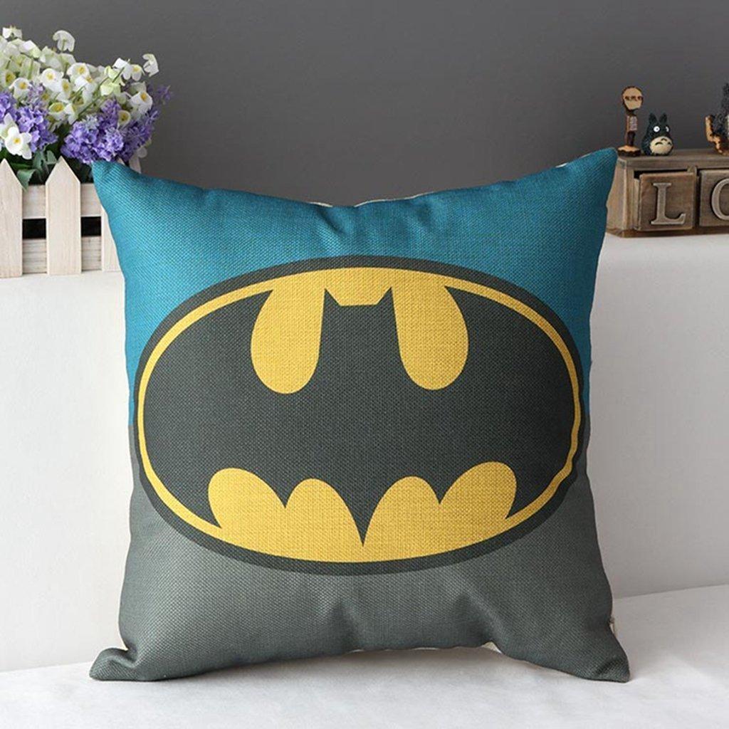 Amazon.com: DuoLe Cotton Linen Square Decorative Cushion Cover Sofa Throw Pillowcase 18\