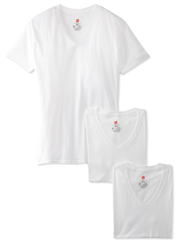 Hanes Men's 3 Pack Ultimate X-Temp V-Neck T-Shirt Hanes Men' s Underwear UTT2W3