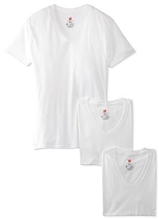 Hanes Ultimate Men S 3 Pack FreshIQ X Temp V Neck T Shirt At Amazon
