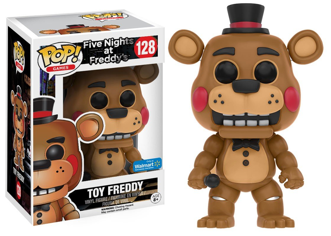 Funko Five Nights At Freddys Limited Edition Toy Freddy Pop Walmart Exclusive