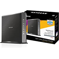 NETGEAR Nighthawk AC1900 (24x8) DOCSIS 3.0 WiFi Cable Modem Router Combo For XFINITY Internet & Voice (C7100V) Ideal for…