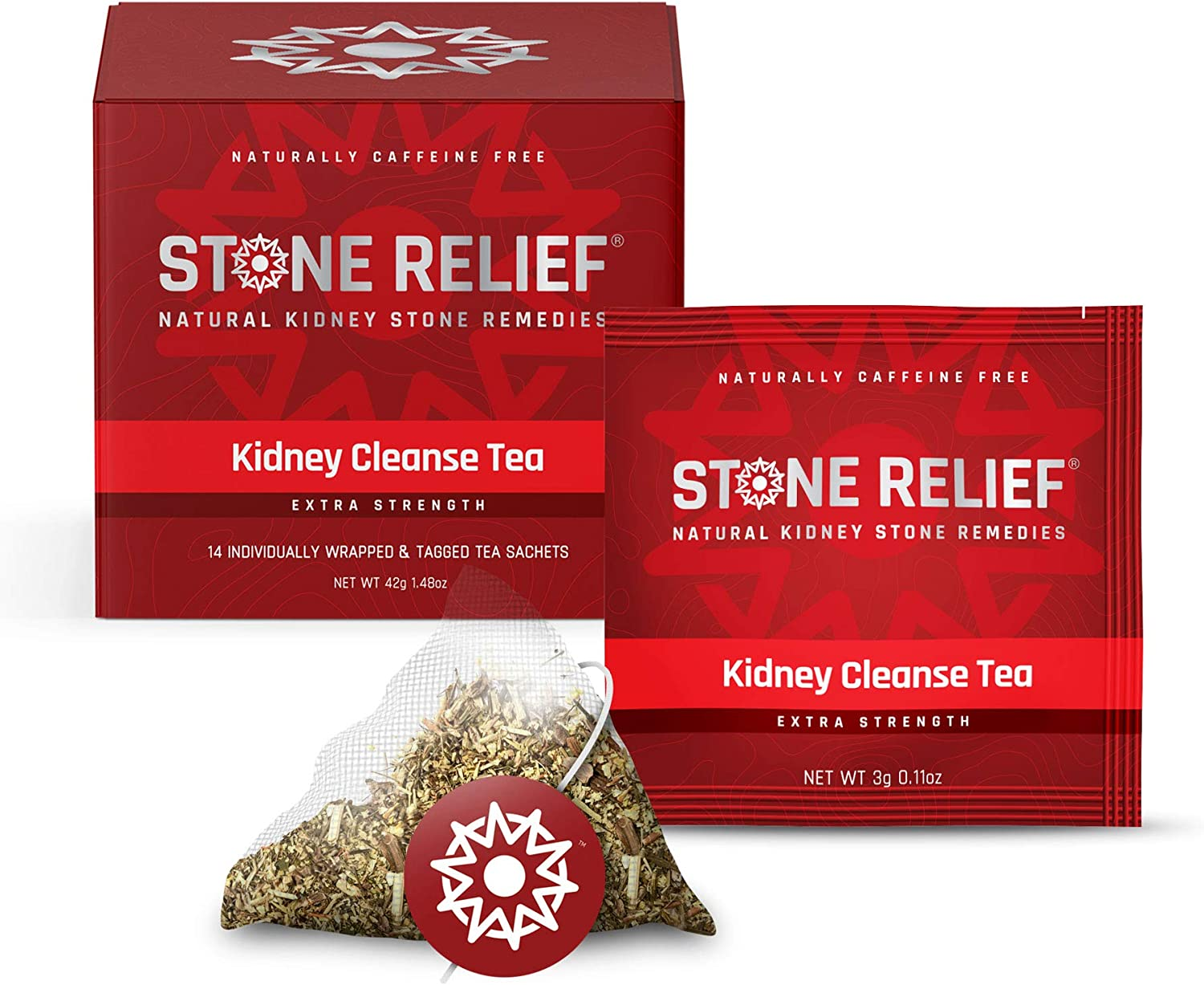 Stone Relief Herbal Tea Extra Strength Naturally Prevent Reduce Relieve Kidney Stones Chanca Piedra Stone Breaker Dandelion Root Lemon Amazon Ca Home Kitchen