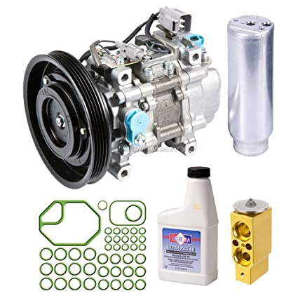 Amazon.com: OEM AC Compressor w/A/C Repair Kit For Toyota Tercel & Paseo - BuyAutoParts 60-84647RN New: Automotive