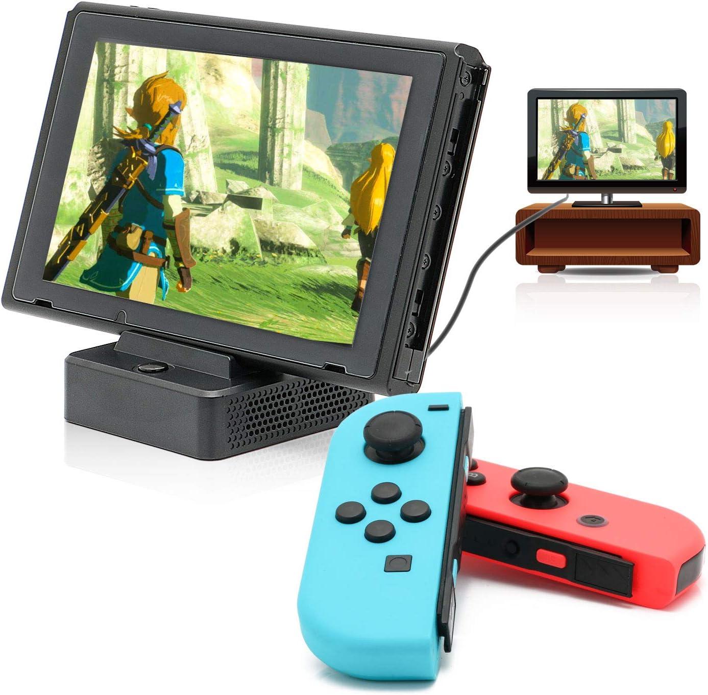Switch HDMI Dock, HDMI Convertidor Dock para Nintendo Switch con ...