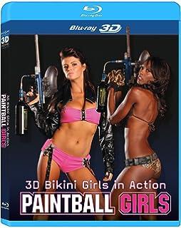 3d Bikini Girls In Action Paintball Girls Blu Ray 3d