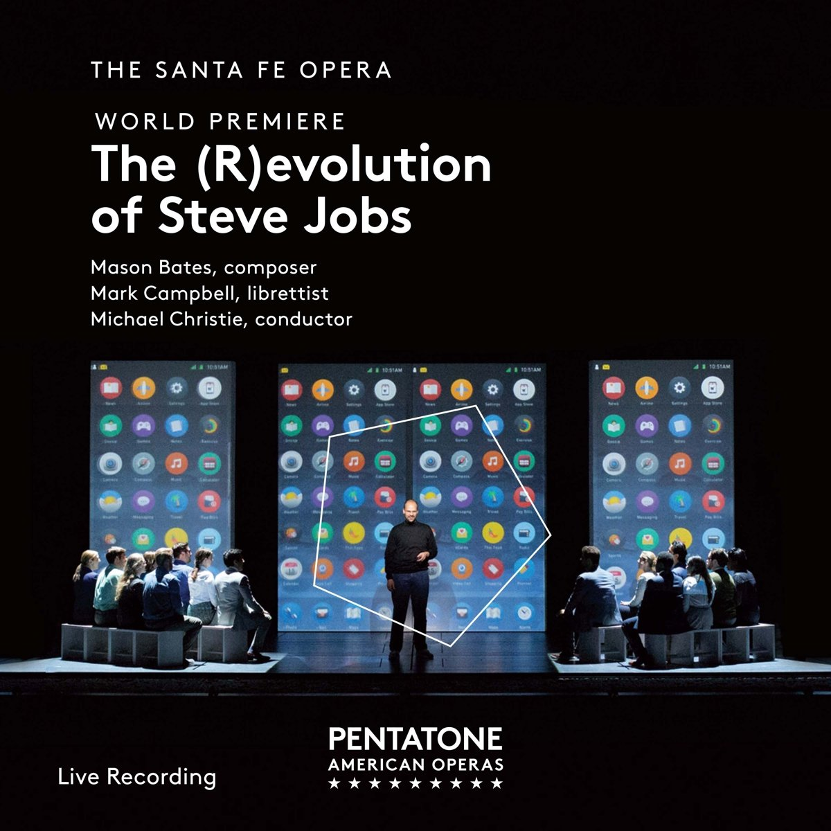Bates: The (R)evolution of Steve Jobs by Pentatone