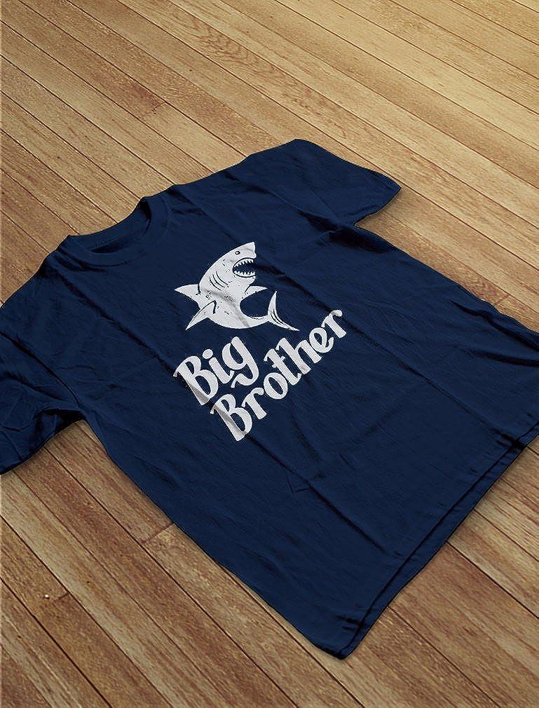 Big Brother Gift for Shark Loving Boys Toddler//Infant Kids T-Shirt TeeStars