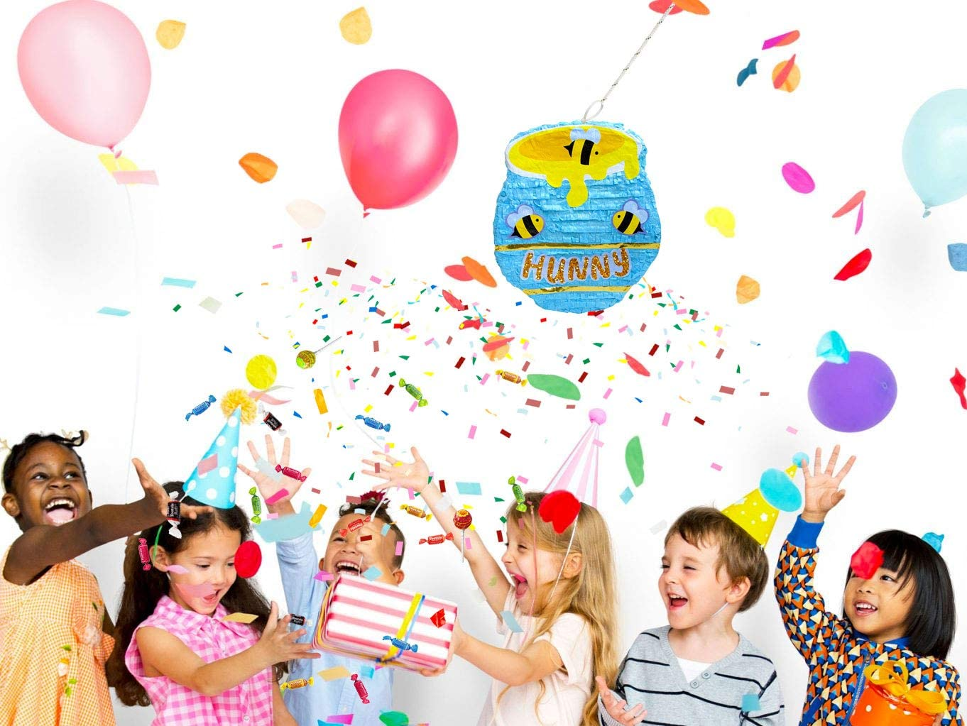 Honey Pot Pinata Baby Shower Decoration and Photo Prop Birthday Party Game
