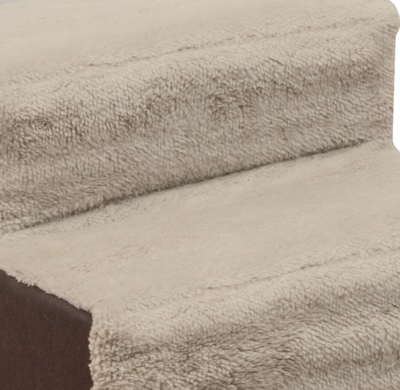 Dallas Manufacturing Co. 3 Step Home Décor Pet Steps, Brown & Tan by Dallas Manufacturing Co. (Image #6)